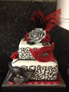 Cake decorated by Diane Barnard
