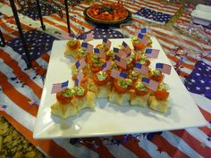 Fun appetizer for July 4th.