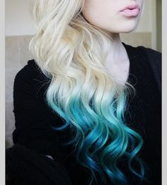 Ombre Dipped Remy Stick Tip I-tip Hair Extensions 100pcs 100grams Full head on Etsy, $124.99 ... I love this color :))