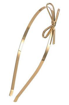 kate spade new york skinny mini metal headband available at #Nordstrom