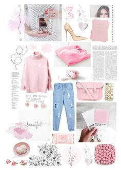 """""""♠ PLANE TO NYC"""" by paty ❤ liked on Polyvore featuring The Cambridge Satchel Company, Casetify, Mamonde, Shinola, Jimmy Choo and Pier 1 Imports"""