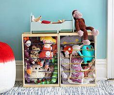 Tame Those Toys!: Corral the Stuffed-Animal Zoo! (via Parents.com)