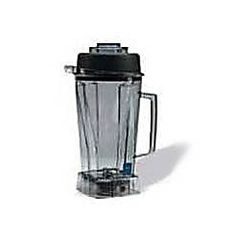 64 oz. / 2.0L Polycarbonate Container for Vita-Pro® / Vita-Prep® with wet blade assembly and lid - 1 per standard pack, 3.2lbs. / 1.45 kg., 0.6 cubic feet / .02 cubic meters *** Note: This Is Also The Standard Container For The 5000 Series Fits Models: Turbo Blend 4500, Professional series 5000, Vita-Mix 5000, Super 5000, TNC, Super TNC, Vita-Mix 4000, Vita-Vac