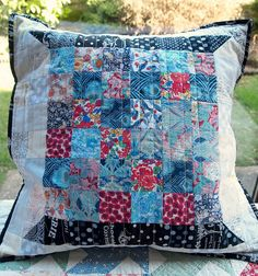 birthday pillow from Lynne by ImAGingerMonkey, via Flickr