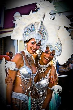 St Croix dancers | Female Dancers in White St. Croix Carnival | Flickr - Photo Sharing!