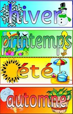 Seasons downloadable posters - gratuit!
