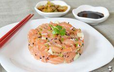 Tartare de salmão -  http://camilanacozinha.com/2013/04/19/tartare-de-salmao-2/