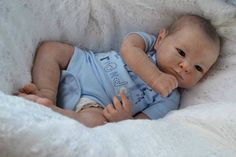 Katescradles Xavi by Adrie Stoete Reborn Baby Doll Beautiful Boy | eBay