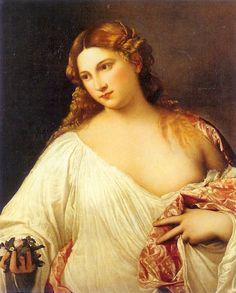 Flora, c.1515. TITIAN.