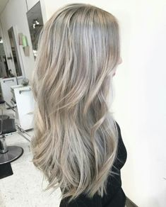 50 Ash Blonde Hair Color Ideas 2019 50 Ash Blonde Hair Color Ideas Ash blonde is a shade of blonde that's slightly gray tinted with cool undertones. Today's article is all about these pretty 50 Ash Blonde Hair Color…, Ash Blonde Hair Grey Balayage, Balayage Brunette, Balayage Hair, Blonde Ombre, Blonde Color, Short Balayage, Soft Blonde Hair, Ashy Hair, Fall Blonde