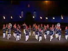 The Concert Band of the Chilean Army performing at the 2010 Edinburgh Military Tattoo.