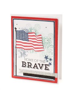 Stamp set available through July 31!  Great for flag day, 4th of July and celebrating our freedom!