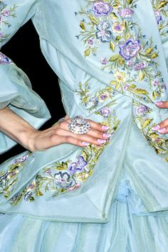 Christian Dior Couture F/W 2007 Remarkable embroidery by MAISON LESAGE