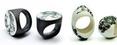 Rings   Luca Tripaldi.  Porcelain