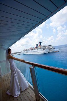 Já pensou em se casar a bordo de um navio?