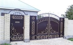 Iron Main Gate Design, Gate Wall Design, Grill Gate Design, House Main Gates Design, Steel Gate Design, Front Gate Design, House Front Design, Entrance Design, House Front Gate