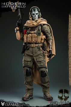 Tactical Shoes, Tactical Pants, Call Off Duty, Special Forces Army, Ghost Soldiers, Army Of Two, Futuristic Armour, Military Action Figures, Masked Man