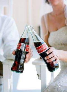 stephen DeVries weddings bride and groom coca-cola {drinks done right}