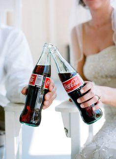 stephen DeVries weddings bride and groom coca-cola {drinks done right}