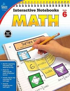 Interactive Notebooks: Math for grade 6 is a fun way to teach and reinforce…