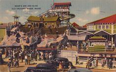 Old Orchard Beach Postcard