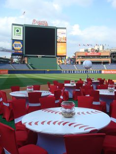 Baseball event at Turner Field by Your Event Solution www.4yes.com