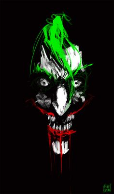 The Joker, this is plain scary!!