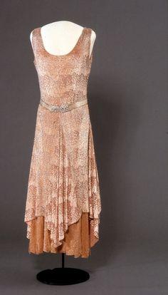 Dress  1929  Nasjonalmuseet for Kunst, Arketketur, og Design