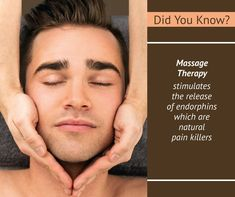 Did You know? Massage Therapy Stimulates the Release of Endorphins which are Natural Pain Killers. Book Now: http://www.oraspa.in  #BodyMassage #MassageTherapy #Pune #Aundh #KalyaniNagar #Kondhwa #BhandarkarRoad