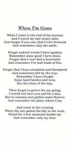 Lovely little poem x