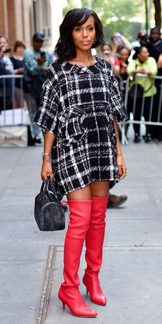 Look of the Day - KERRY WASHINGTON from InStyle.com