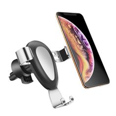 Car Dashboard Smartphone Holder Phone Mount Adjustable 360 Degree Rotation Cellphone Cradle Compatible for for iPhone Xs Max R X 8 Plus 7 Plus 6S Samsung Galaxy S9 S8 Edge S7 Compatibe Tesla Model 3 LMZX