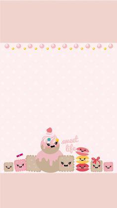 Des fonds d'écran pour vos iPhones « Biscuits sucrés ».