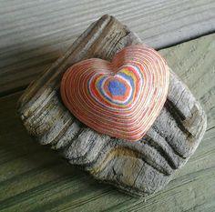 Layered Heart Paper Pendant