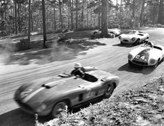 Phil Hill & Carroll Shelby -Pebble Beach 1956