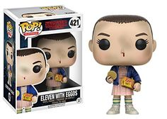 Funko POP Television Stranger Things Eleven Toy with Eggos/Chase