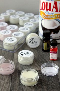 Coconut oil lip balm recipe