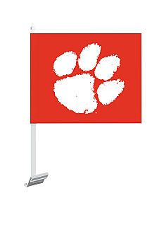 Clemson Tigers Car Flag #belk #Clemson #collegiate