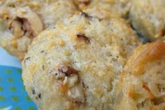 Les cookies au roquefort et aux noix