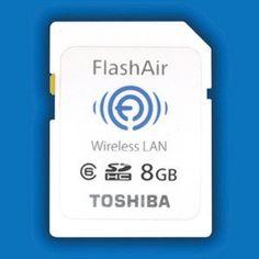 Toshiba FlashAir WiFi SD Card will make your Eye-Fi's water -- Engadget