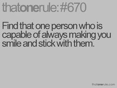 Everyone should have that person in their life.