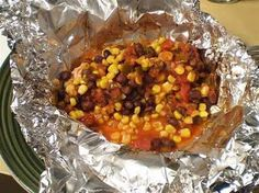 Cheap Healthy Good - Frugal Recipes, Food Tips, No Mayo: Southwestern Chicken: a Foil Dinner Recipe