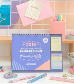 Calendrier de table - 2018 petits moments et de grands projets