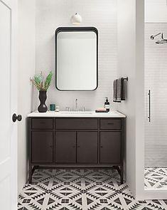 Berkeley Bathroom Vanity Cabinets with Top - Modern Bathroom Vanities - Modern Bath Furniture - Room & Board