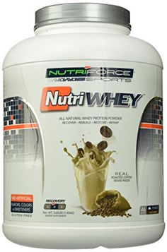 Nutriforce Nutriwhey Protein Powder Coffee 365 Pound *** Visit the image link more details.