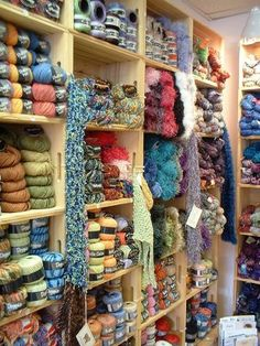 """Ohhhh, I could spend hours in this place! It just screams """"lets knit!"""""""