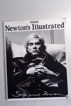 A rare issue of Helmut Newtons ILLUSTRATED No. 1, Sex and Power featuring a startling photo of Andy Warhol on the cover.  This rare, first in a line of four ILLUSTRATED issues is in VG condition and a beautiful book filled with stunning photos from a true master.  Dripping with excess, wealth, fame and sexuality. Condition. VG. See photos.  ------------------------------ I COMBINE SHIPPING! ------------------------------    Thanks for looking!  Check my shop for other great stuff and SAVE…