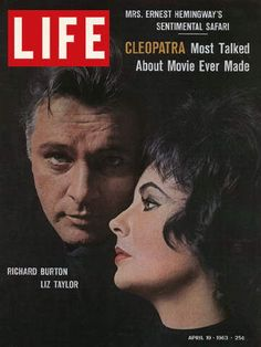 LIFE Magazine April 19, 1963 - Richard Burton and Elizabeth Taylor in Cleopatra
