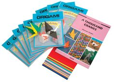 Aitoh 1000 Origami Paper Crane Classroom Pack, Assorted Color, Pack of 1000 #mycdwishlist