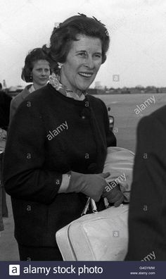 Download this stock image: PRINCESS GEORG OF HANOVER : 1963 - G4GYMW from Alamy's library of millions of high resolution stock photos, illustrations and vectors.